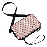 dgaf&bae Umhängetasche Handy Handschlaufe Klein Tasche Mode Hardcase Kosmetiktaschen Harte Schale...