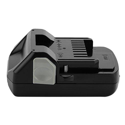 Hanaix 18V 2500mAh Li-ion Battery Compatible with Hitachi BSL1815X BSL1830 330139 330557 C18DSL2 C18DSLP4 CJ18DSLP4 CR18DSAL CR18DSLP4 DS18DSAL DV18DSFL FCG18DAL FCG18DL R18DSL WM18DBL