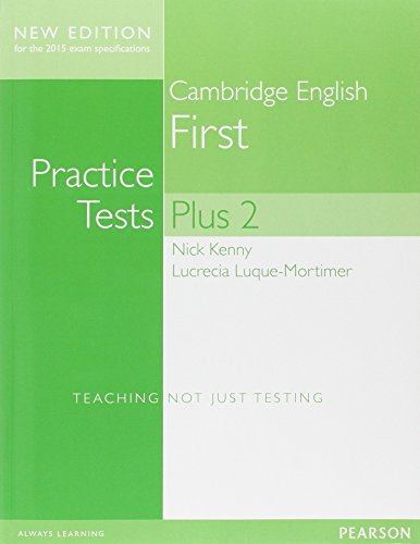 Cambridge First Volume 2 Practice Tests Plus New Edition Students' Book without Key [Lingua inglese]
