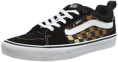 Vans Herren Filmore Suede/Canvas Sneaker, Mehrfarbig Camo Check Schwarz Weiß W4r, 47 EU