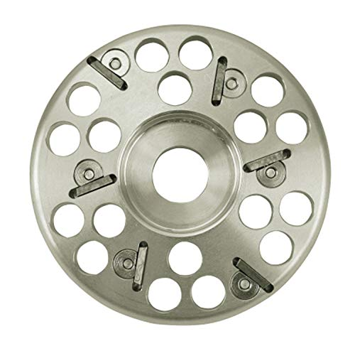 Klaue Coupe Disque 6 pan en aluminium, Professionnel, 120 mm