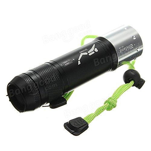 BAZAAR XM-L T6 3 modes 2800lm plongée étanche LED Lampe de poche 18650/26650
