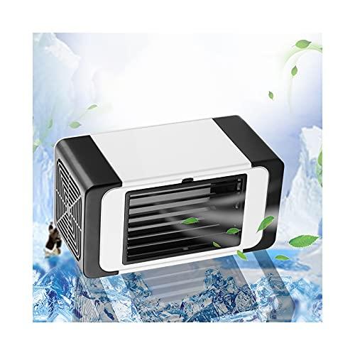 GAOJINXIURZ Air Cooler Portable Portable Air Cooler, Personal Air Cooler USB connection Personal Air Conditioner Three Generation Personal Air Conditioner Rapid Cooling Noiseless Evaporative Air Fan