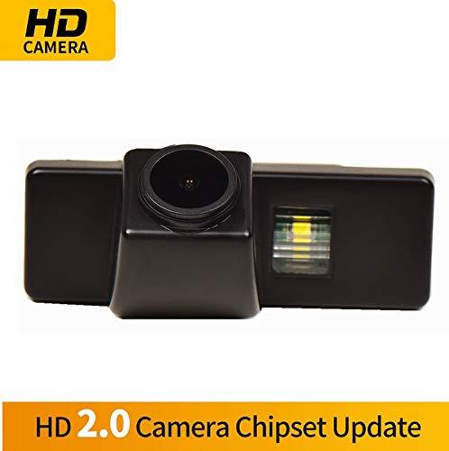 Farbkamera Wasserdicht Rückfahrkamera kennzeichenbeleuchtung Kamera KFZ Rückfahrsystem mit Einparkhilfe Nachtsicht für Peugeot 307 307CC Citroen QUATRE & TRIOMPHE C4 C5 / Nissan Qashqai / X-Trail