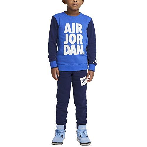 Nike Jordan Tuta da Bambino Jumpman Air Blu Cod 85A356-U9J (7_years)