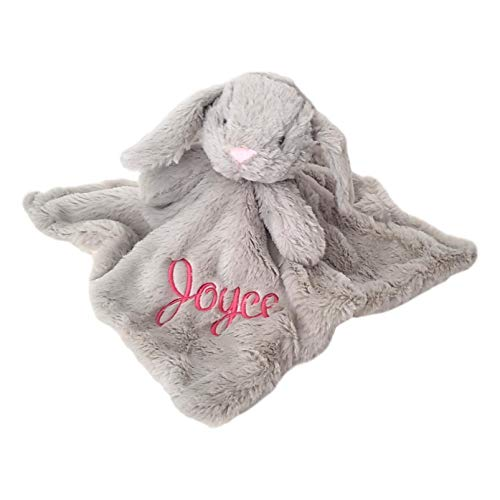 Personalized Security Blanket With Rattle