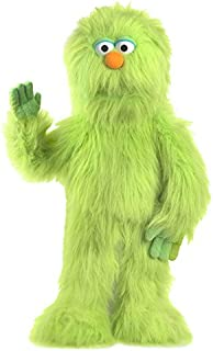 "30"" Green Monster Puppet, Full Body Ventriloquist Style Puppet"