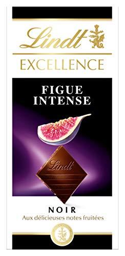 Lindt Excellence Tablette De Chocolat Noir Figue Intense 100g
