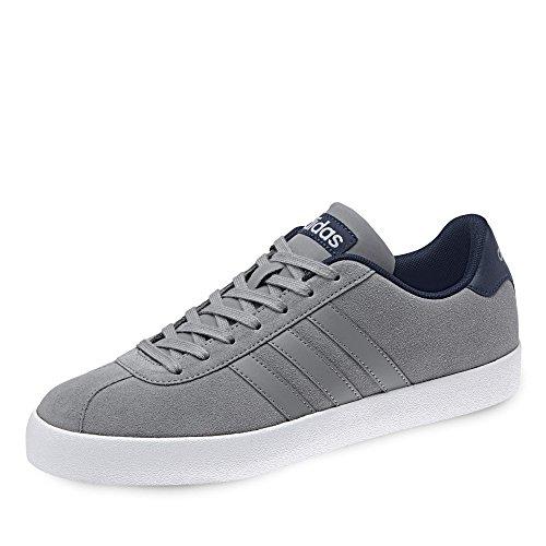 adidas Court Vulc, Zapatillas de Deporte para Hombre, Gris (Gritre/Gritre/Maruni), 43 1/3 EU