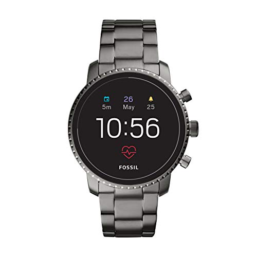 Image of Fossil Men's Gen 4 Explorist HR Stainless Steel Touchscreen Smartwatch with Heart Rate, GPS, NFC, and Smartphone Notifications: Bestviewsreviews
