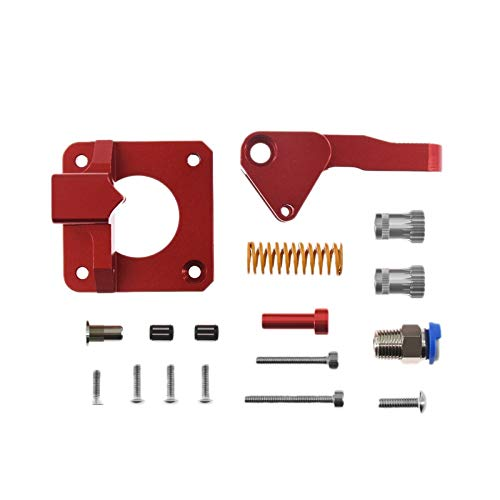 Aluminum Upgrade Dual Gear Extruder Kit for Cr10S Pro for Reprap for Prusa I3 1.75Mm Drive Feed Double Pulley Extruder ZRONG