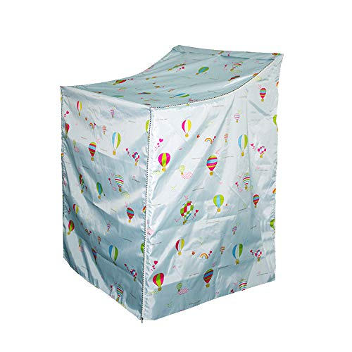 """QLLY Washer/Dryer Cover for Top-loading Machine – Waterproof, Dustproof, Sun-Proof, W29""""D28""""H43"""" Suitable for most Washers/Dryers on US and Canadian market (Basic Balloon)"""