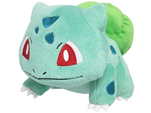 Sanei Pokemon All Star Series PP17 Bulbasaur Stuffed Plush,
