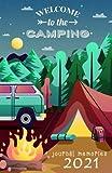 summer camp journal memories 2021: journal women men's journal kid travel journal planner ruled notebook