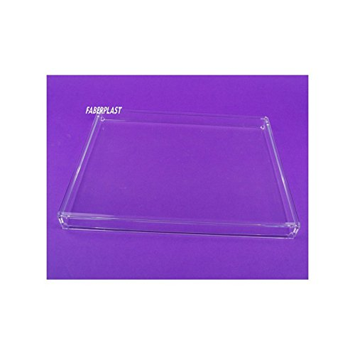 Faberplast FB961 - Caja plana con tapa, color transparente: Amazon ...