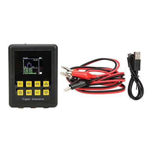 Generador de señal multifunción, 4-20mA 2-10V PWM Generador de señal de mano ajustable por pulso Batería incorporada de onda triangular sinusoidal rectangular Batería incorporada