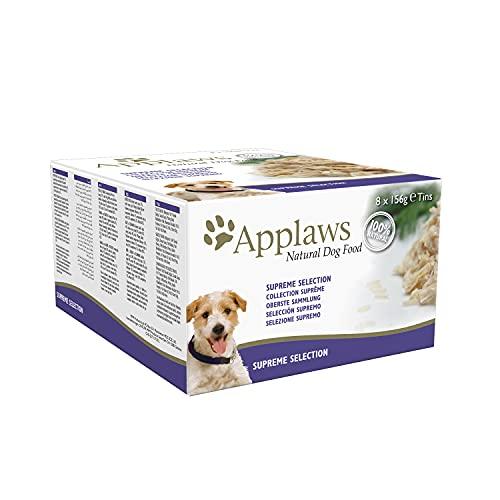 Applaws, Alimento Natural Para Perros, Selección Suprema, 8 x 156g