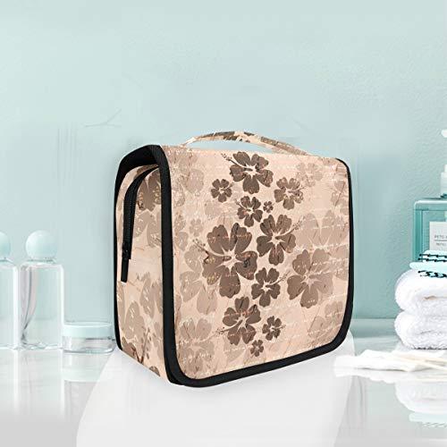 Fleur D'Art Trousse De Toilette Sac Pliable Suspendu Cosmétique Sac Rangement Maquillage sacs pour Voyage Femmes Filles