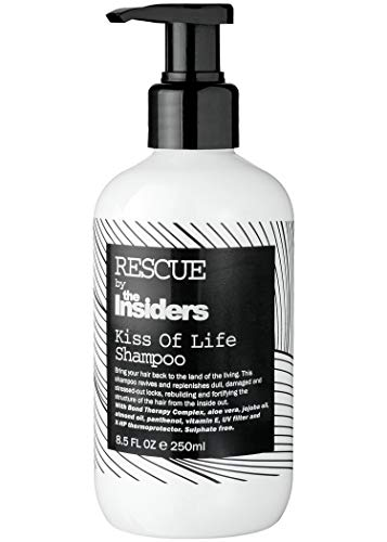 Kiss of Life Shampoo by The Insiders - Ultra verzorgende en herstellende shampoo voor beschadigd haar - 250ml
