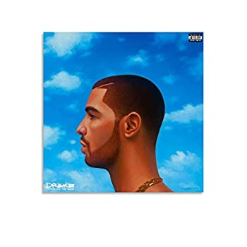 YJMM Album Cover Drake Nothing was The Same Limited Poster Decorative Painting Canvas Wall Art Living Room Posters Bedroom Painting 12x12inch 30x30cm
