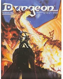 Dungeon Adventures for Tsr Role-Playing Games: September/October 1993 Issue 43/Magazine