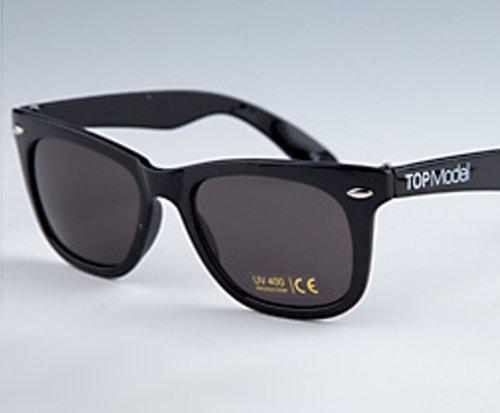 TOP Model Sonnenbrille schwarz