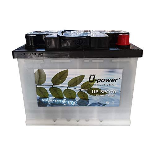 Bateria Solar, Monoblock SPO 70AH 12V