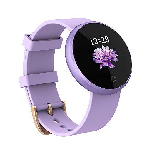 Lemonda WB36 - Smartwatch da donna, con contapassi, frequenza cardiaca, impermeabile, IP68, per Android, iOS, iPhone, Samsung, Huawei