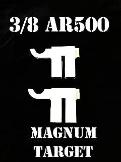 Steel Shooting Targets AR500 Hardened T-Post Hook-2pc NRA Metal Gong Range Target