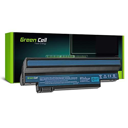 Green Cell UM09C31 UM09G71 UM09H31 UM09H75 Laptop Akku für Acer Aspire One 532H 533   eMachines EM350 NAV51 (6 Zellen 4400mAh 10.8V Schwarz)