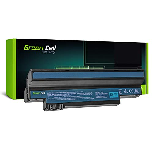 Green Cell Standard Series UM09C31 UM09G71 UM09H31 UM09H75 Battery for Acer Aspire One 532H 533 | eMachines EM350 NAV51 Laptop (6 Cells 4400mAh 10.8V Black)