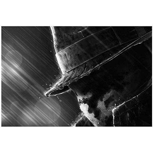 XuFan Rorschach Watchmen película Pared Arte póster Impresiones para Sala de Estar decoración del hogar imágenes-16X24 Pulgadas sin Marco