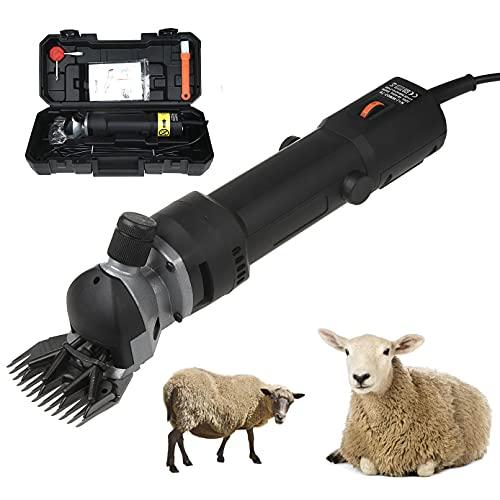 Sinbide 690W Tondeuse à Moutons Machine Tondeuse Electrique Professionnelle pour Moutons … (Noir)