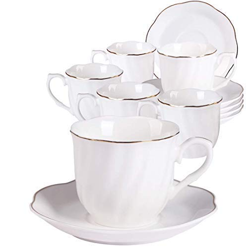 Fine Porcelain Tea Cups and Saucers: Amazon co uk