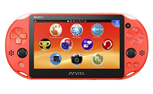 Sony PlayStation Vita PCH-2000ZA24 Wi-Fi Model Neon Orange (Japan Import)