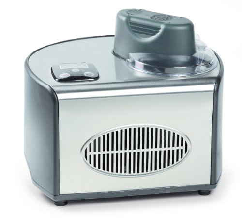 Domo DO9030I Eismaschine mit Kompressor (160 Watt, 1.5 l) Grau