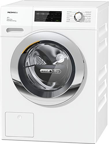 Miele WTI 3704 WPM - PowerWash 2.0, Lavasciuga, Classe A, 46 dB, 1600 rpm, Carico Frontale, 8/5 kg, Bianco