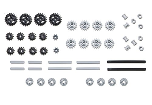 LEGO 50pc Technic gear & axle SET by LEGO