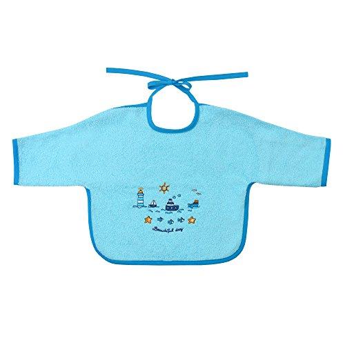 Mauz by wörner baby phare mint «bavoirs, serviettes de bain et gant de bain poncho, Vert menthe, Ärmellätzchen 68x34 cm