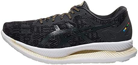 ASICS Women's Glideride Running Shoes, 8, Black/Graphite Grey