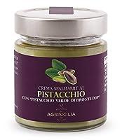 agrisicilia crema spalmabile al pistacchio con pistacchio verde di bronte dop - 200 g