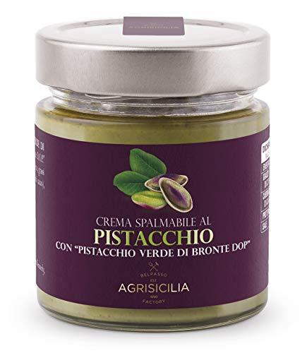 Agrisicilia Crema Spalmabile al Pistacchio DOP, 200g
