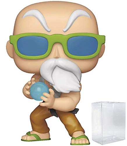 Funko Anime: Dragon Ball Z - Master Roshi Max Power Specialty Series Exclusive Pop! Vinyl Figure (Includes Compatible Pop Box Protector Case)