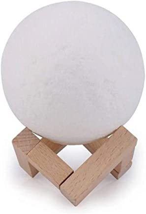 Moon Lamp 8cm with Remote