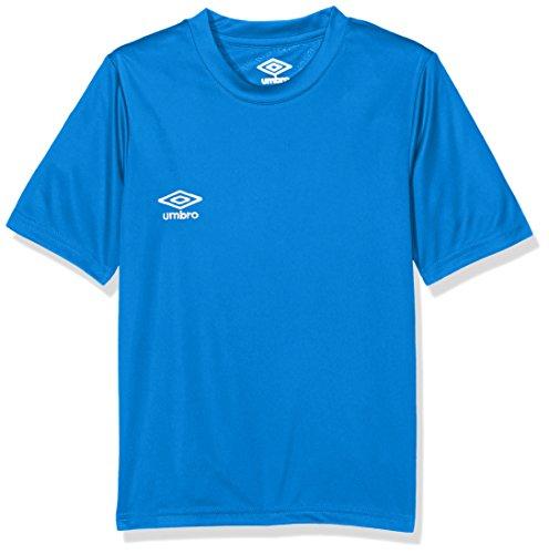 UMBRO Oblivion Jnr Camiseta de fútbol, niño, Azul Royal, 12 años