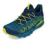 La Sportiva Tempesta GTX, Zapatillas de Trail Running para Hombre, Multicolor (Indigo/Tropic Blue 000), 41.5 EU