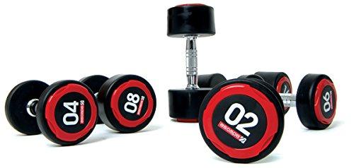 ESCAPE 2 kg dumbbellobject 2 kg Poliuretano Mancuernas (par), Color, EPDB1020