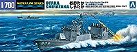 青島文化教材社 1/700 ウォーターラインシリーズ 海上自衛隊 ミサイル艇 おおたか しらたか プラモデル 018