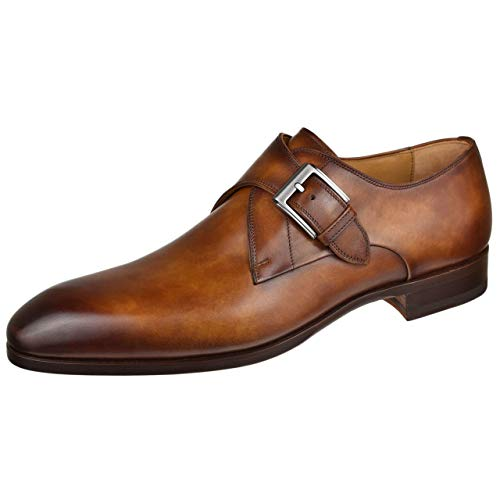 Magnanni Mens Shoes Lazaro Monk Strap 20653-Cuero Cuero 10 M US