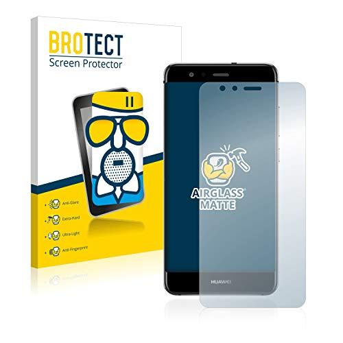 BROTECT Protector Pantalla Cristal Mate Compatible con Huawei P10 Lite Protector Pantalla...